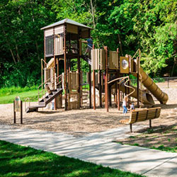 Abrams Community Park - play structure