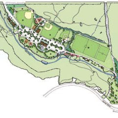 Abrams Community Park - master plan