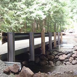Access Roads - bridge