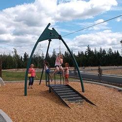 Big Sky Neighborhood Park - zip line