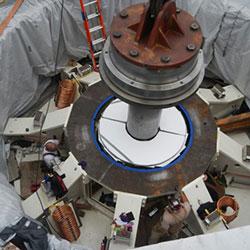 Box Canyon - turbine installation