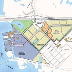 Burbank Business Park - master plan