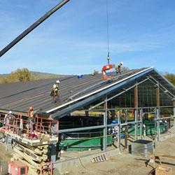 Carlton Acclimation Facility - construction