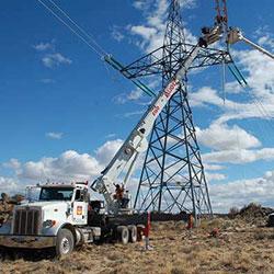 Celilo-Sylmar No 1 Transmission - construction