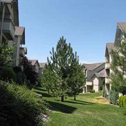 Grandridge Apartments - slopes and grading