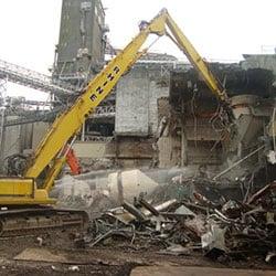 Great Western Malting Demolition - structures