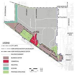 Horn Rapids Industrial Park - master plan