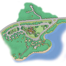 Ike Kinswa Group Camp - concept plan, rendering