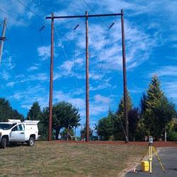 Keeler-Oregon City No. 2 Transmission Line - survey