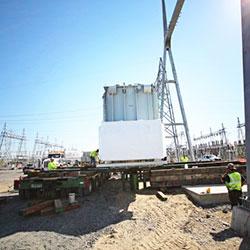 McNary UEC Substation construction