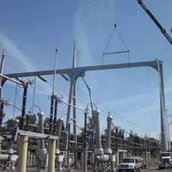 Monroe Substation Integration - construction