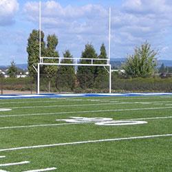 Nautilus World Headquarters - sports field over parking