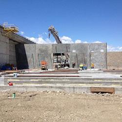 Priest Rapids Generator Building - construction