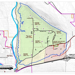 Red Mountain Center AVA - utility plan