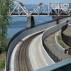 West Vancouver Freight Access Rail Trench