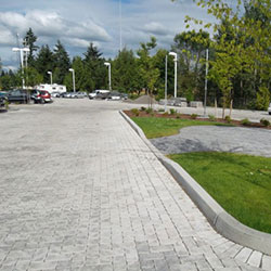 Vancouver Toyota - pervious pavers