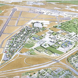 Tri-Cities Airport Business Park - rendering