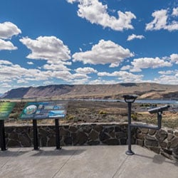 Wanapum Overlook and Signage