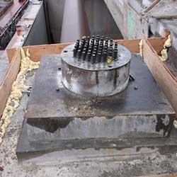 Wanapum Monolith - steel tendons