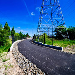 Waterhouse Trail - paved path