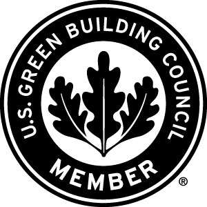 USGBC branding: USGBC® and the related logo are trademarks owned by the U.S. Green Building Council® and are used with permission