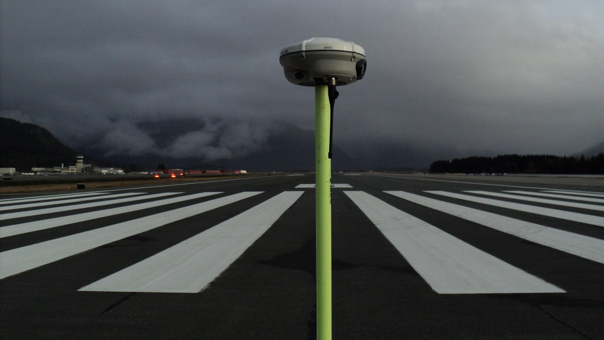 Alaska Airports Surveying - runway