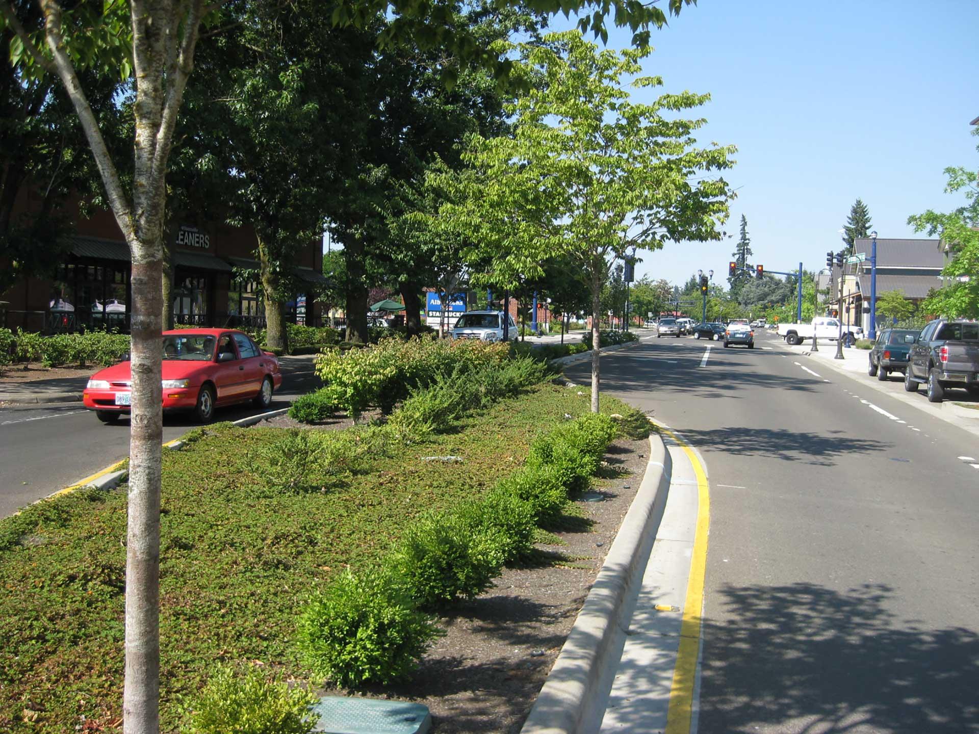 Boones Ferry Road - street improvements