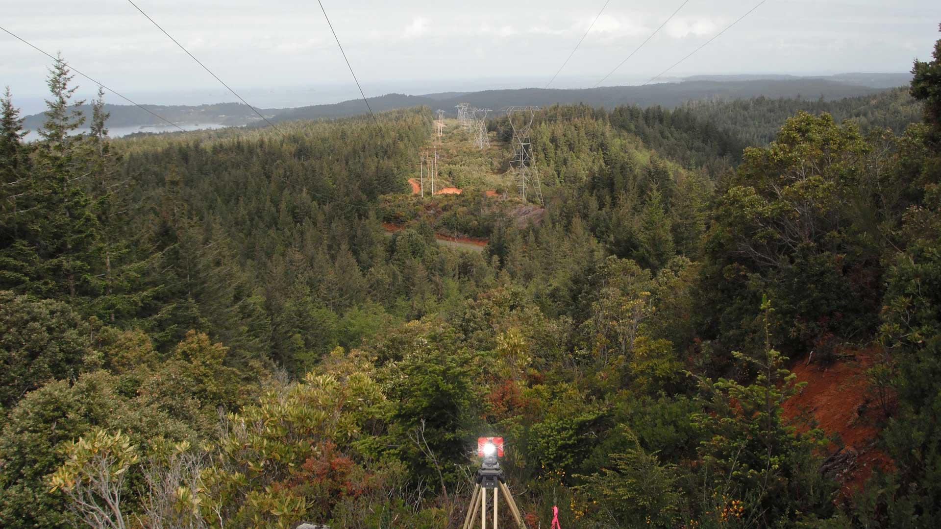 Bandon-Rogue No. 1 Transmission Line - survey