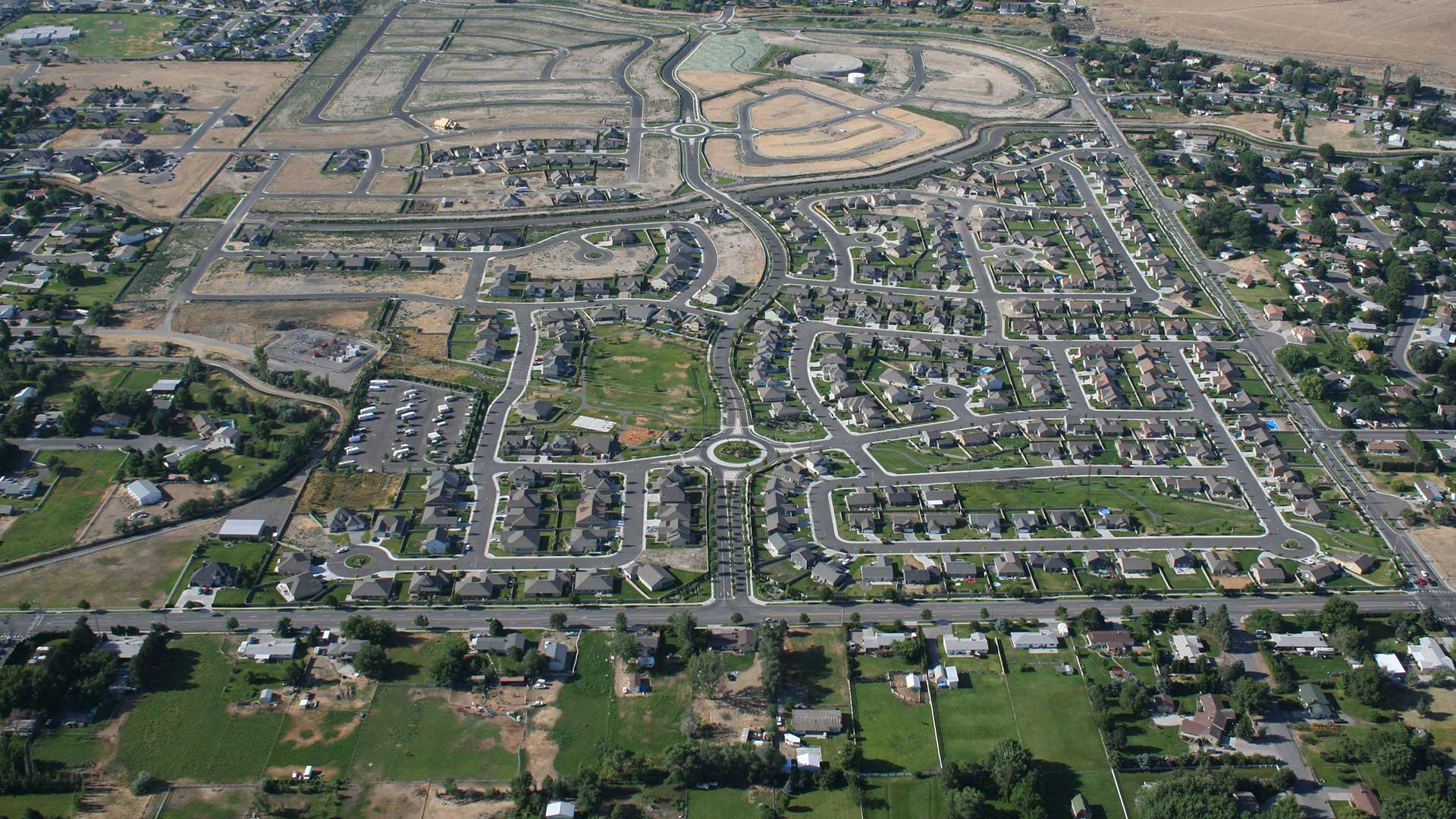 Creekstone Planned Development - aerial