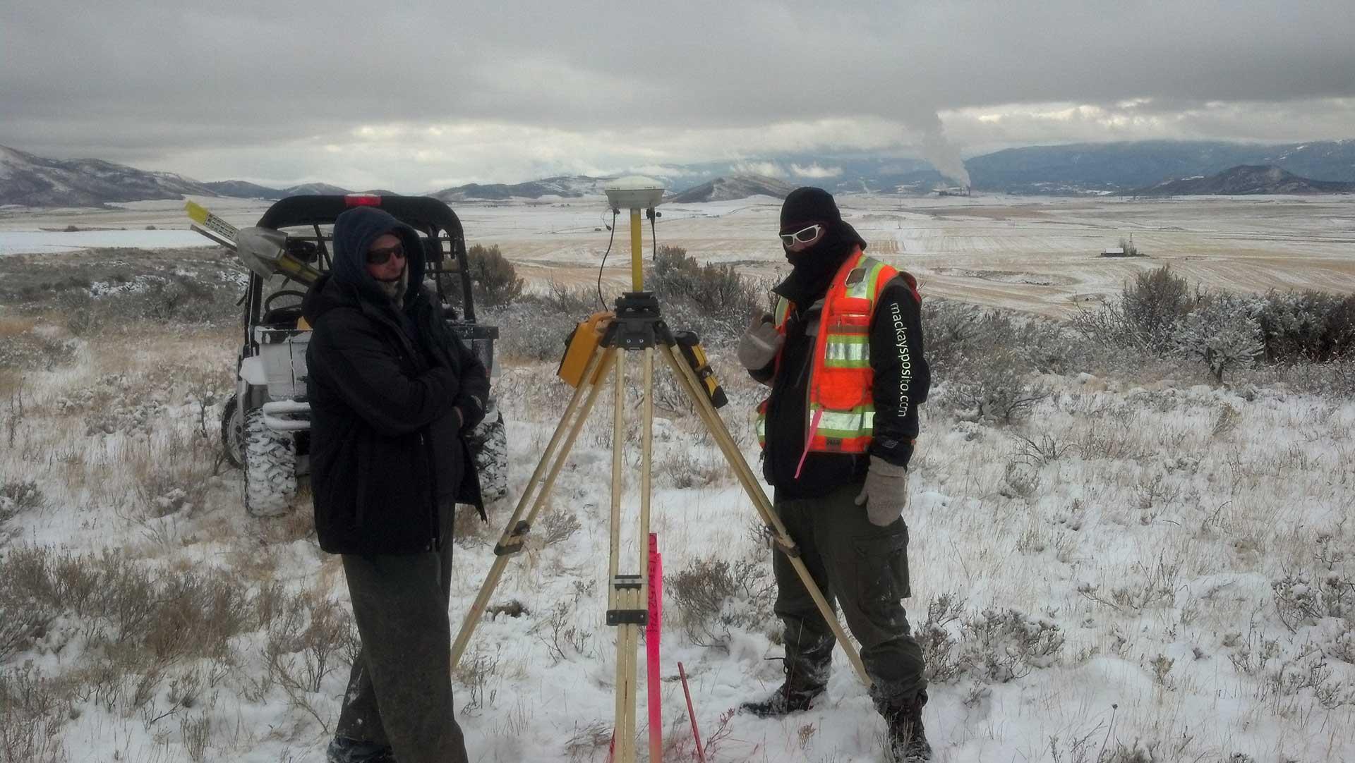 Hooper Springs-Lanes Creek - surveying