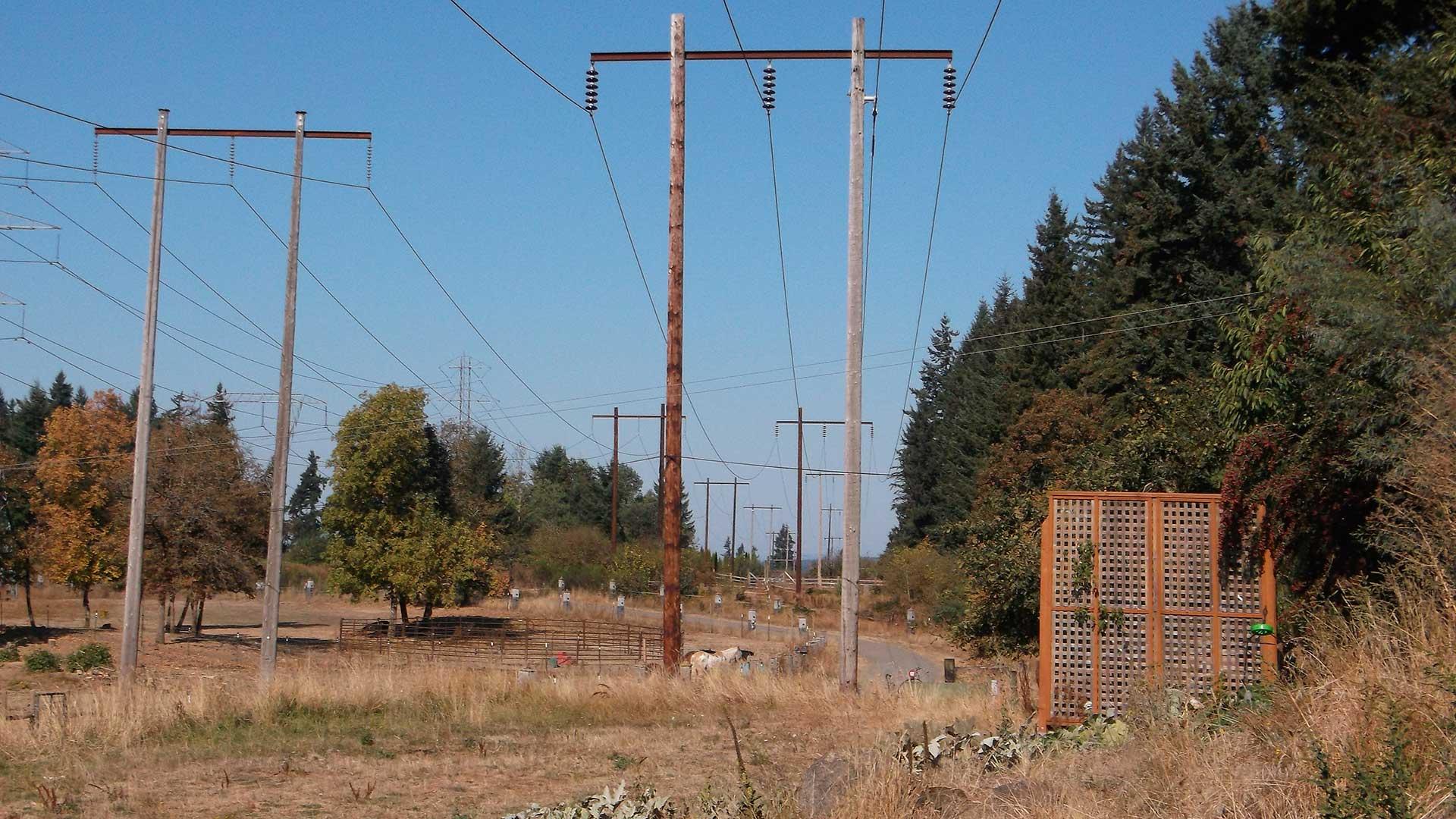 Keeler-Oregon City - transmission line