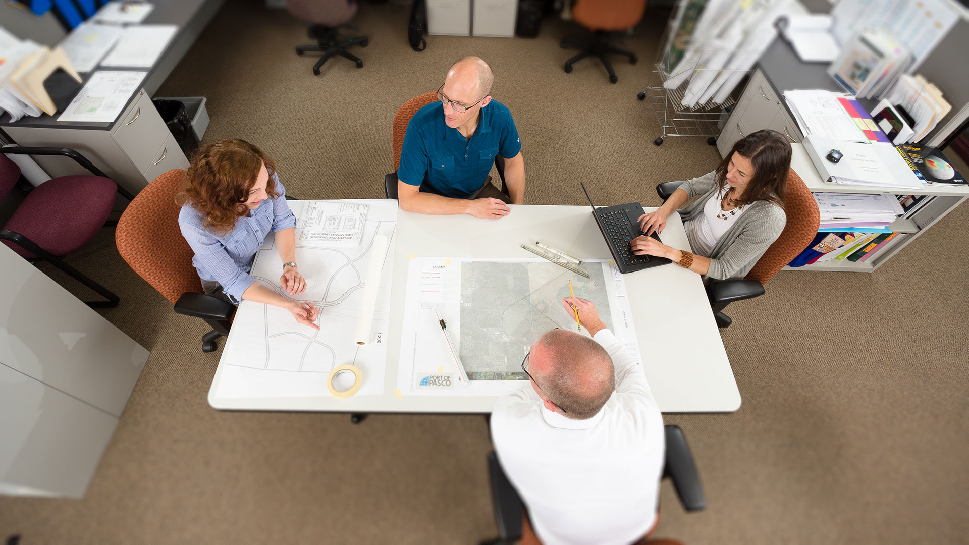 Landscape architecture team