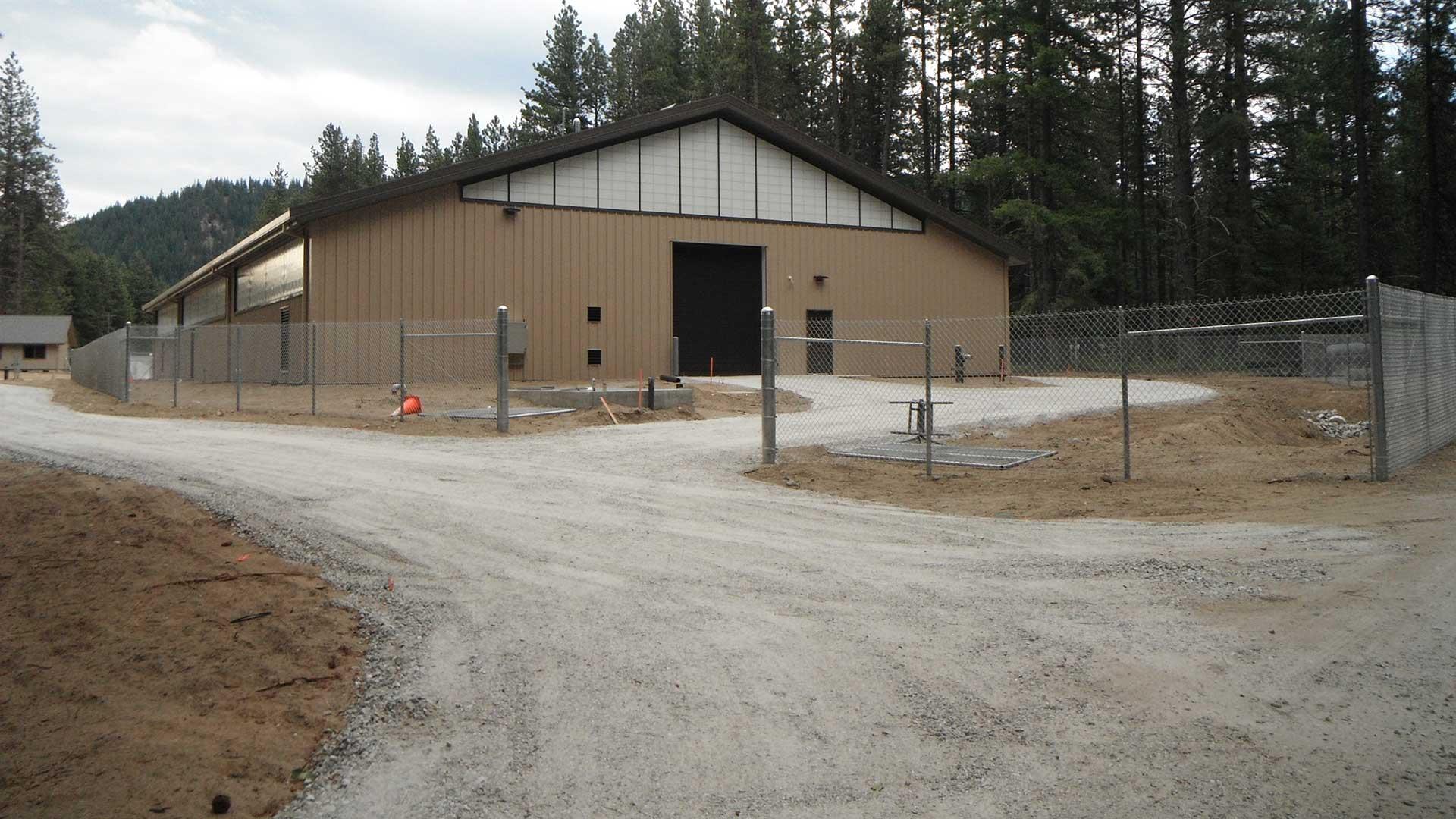 Nason Creek Acclimation Facility - building