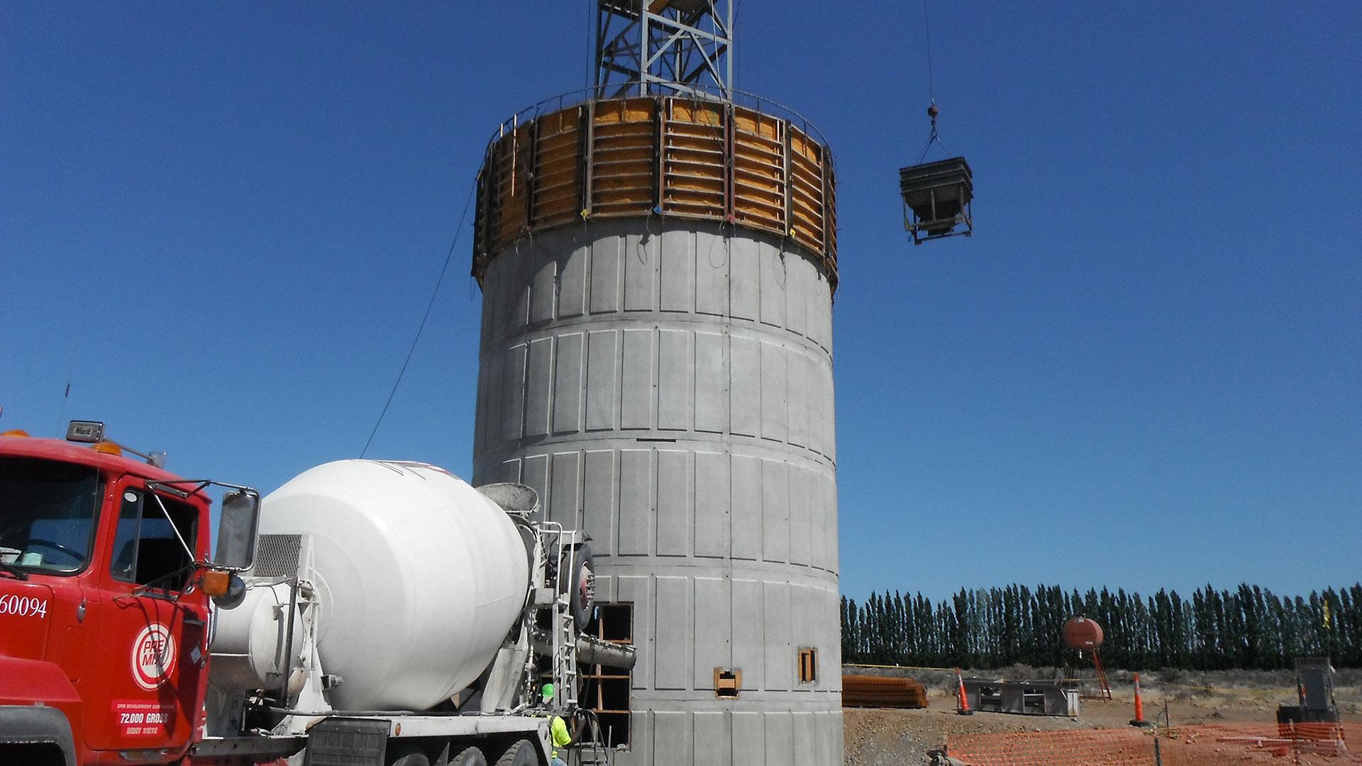 Priest Rapids Water System - water storage tank