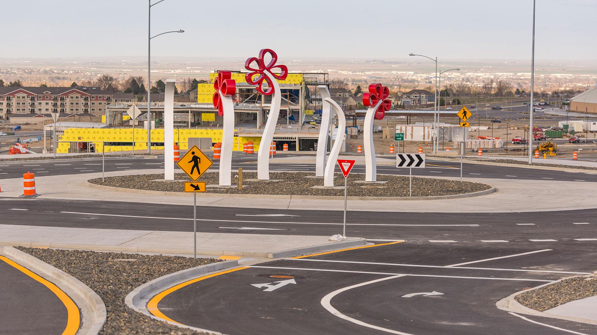 Ridgeline Road Roundabout