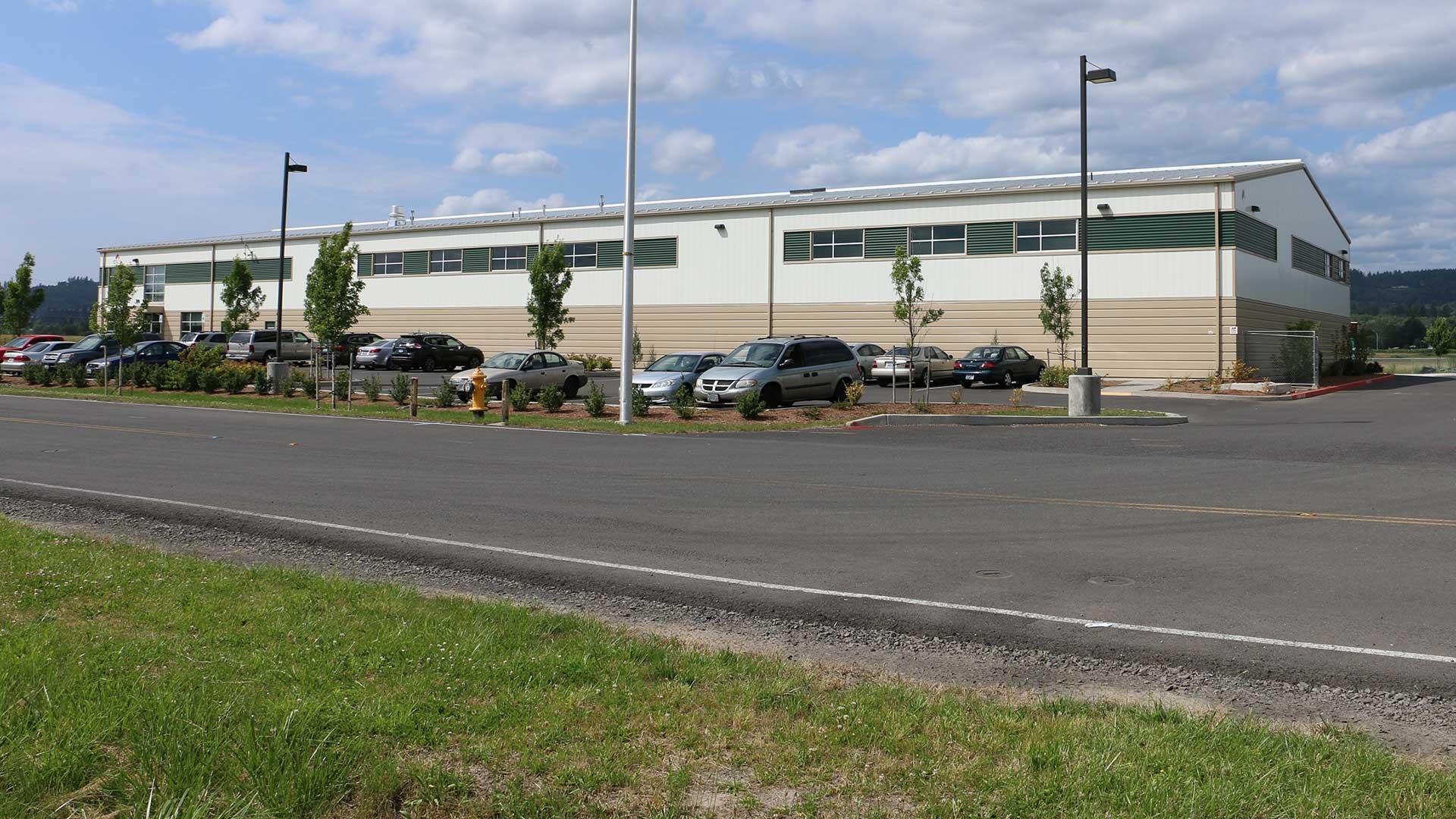 Steigerwald Commerce Center - first building