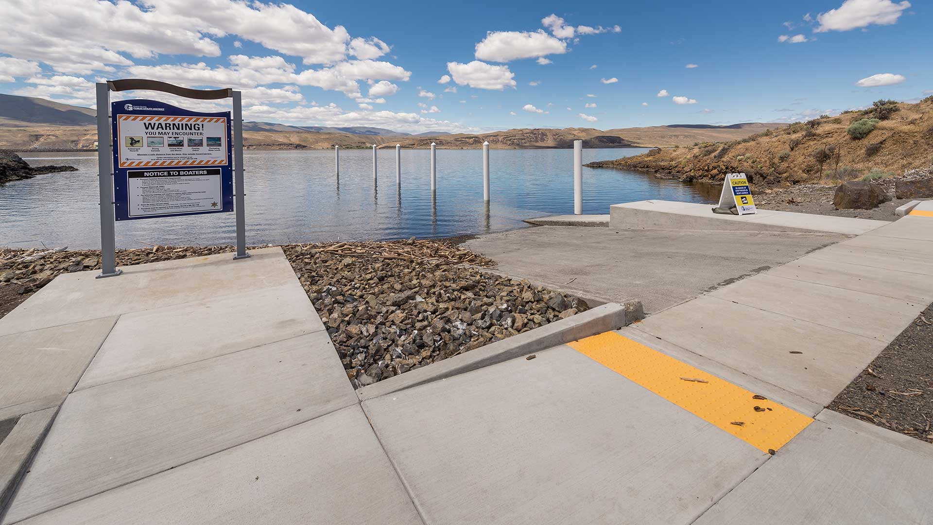 Wanapum Dam Upper Boat Launch